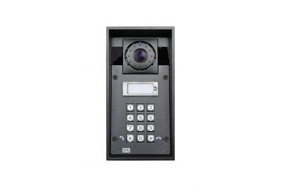 2N Helios IP Force - 1 кнопка вызова & HD камера & клавиатура & 10Вт динамик