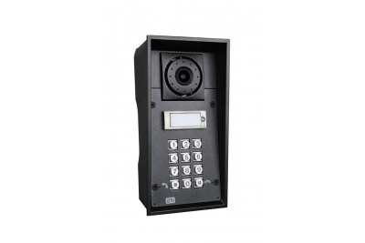 2N Helios IP Force - 1 кнопка вызова & камера & клавиатура & 10Вт динмик