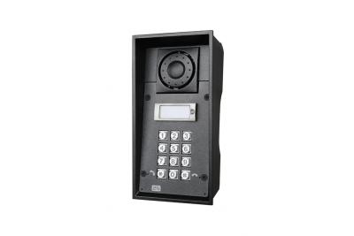2N Helios IP Force - 1 кнопка вызова & клавиатура & 10Вт динамик