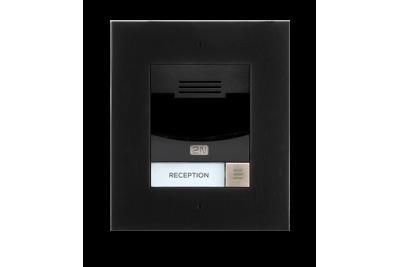 2N® Helios IP Solo - с камерой, врезной - черного исполнения