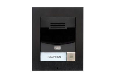 2N® Helios IP Solo - с камерой, накладной - черного исполнения