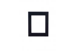 2N® Helios IP Verso-Рамка, 1 модуль. Черное исполнение.