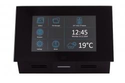 2N® Indoor Touch PoE - сенсорная панель (черная)